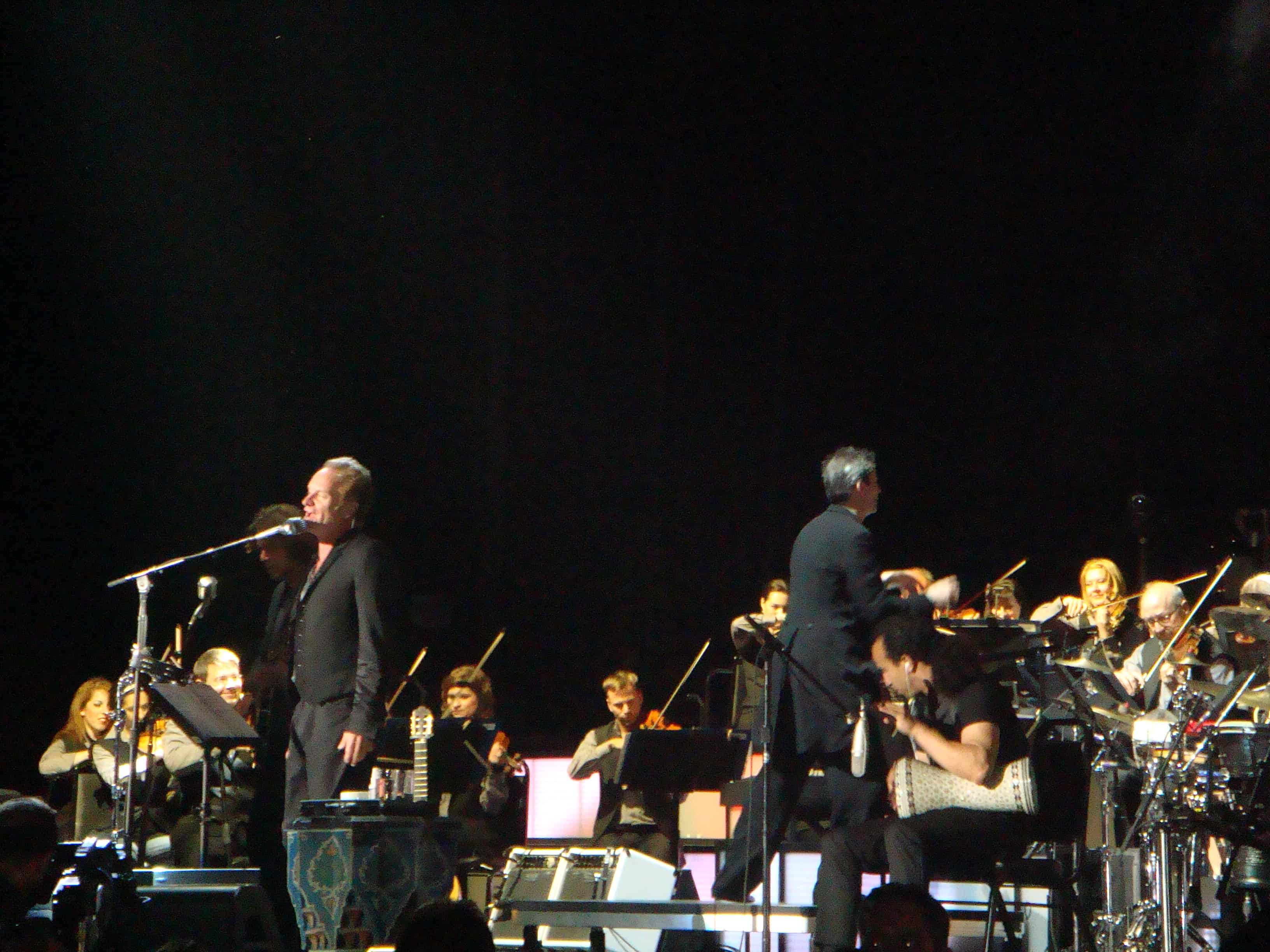 Sting with the Royal Philharmonic Orchestra