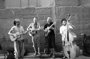 Photograph of a Band in Florence