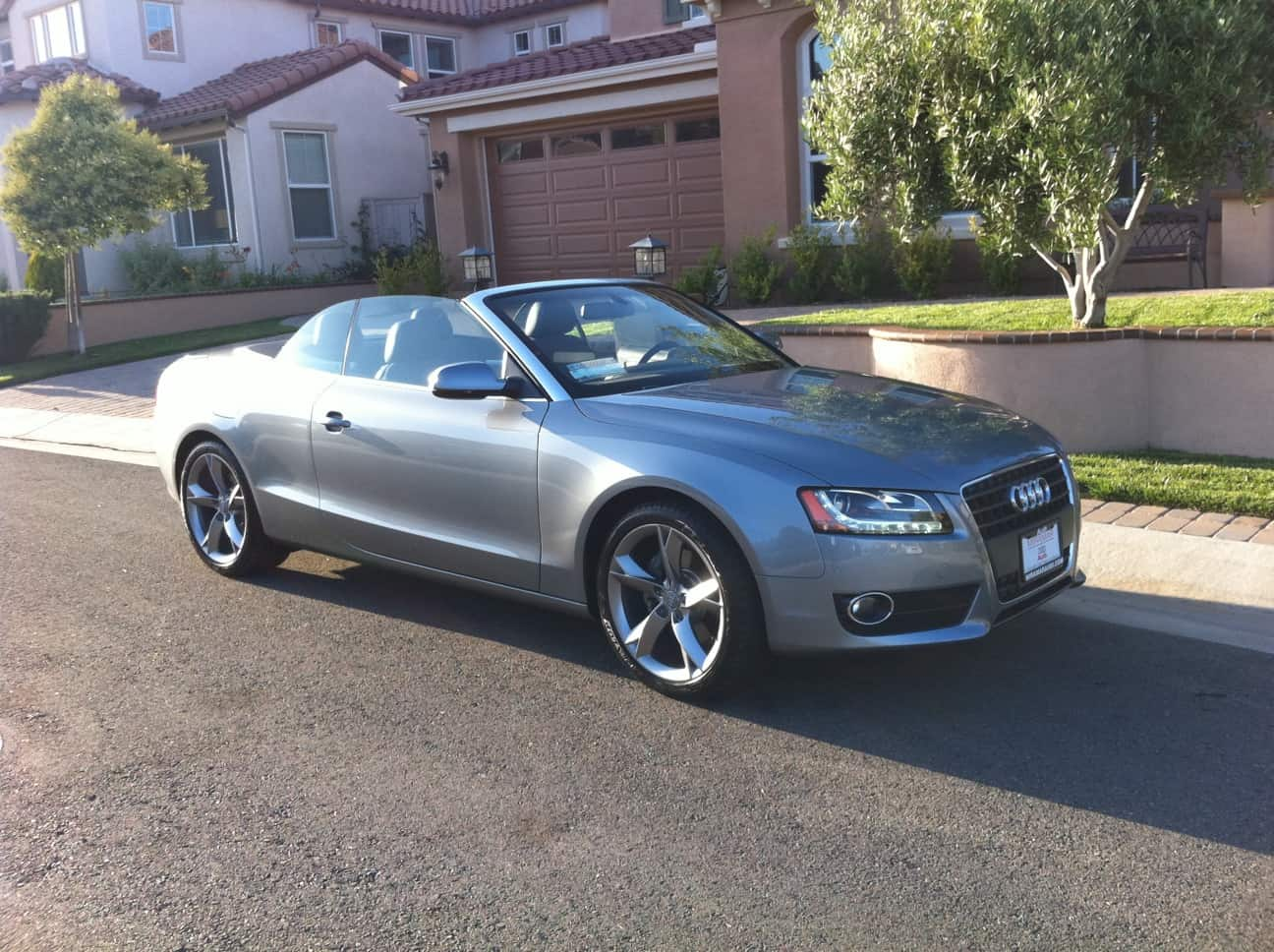 The New Toy – Audi A5 Convertible