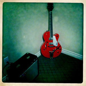 Picture of Gretsch hollowbody guitar